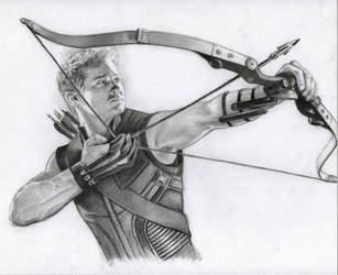 Hawkeye by Pencilsketches