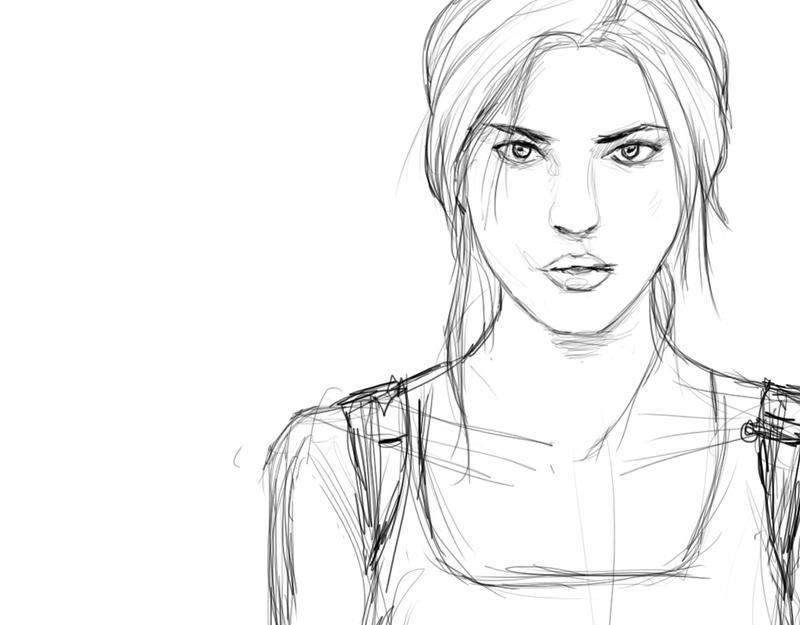 Tomb Raider preview by Pencilsketches