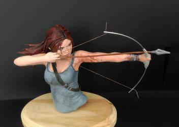 Tomb Raider Sculpture