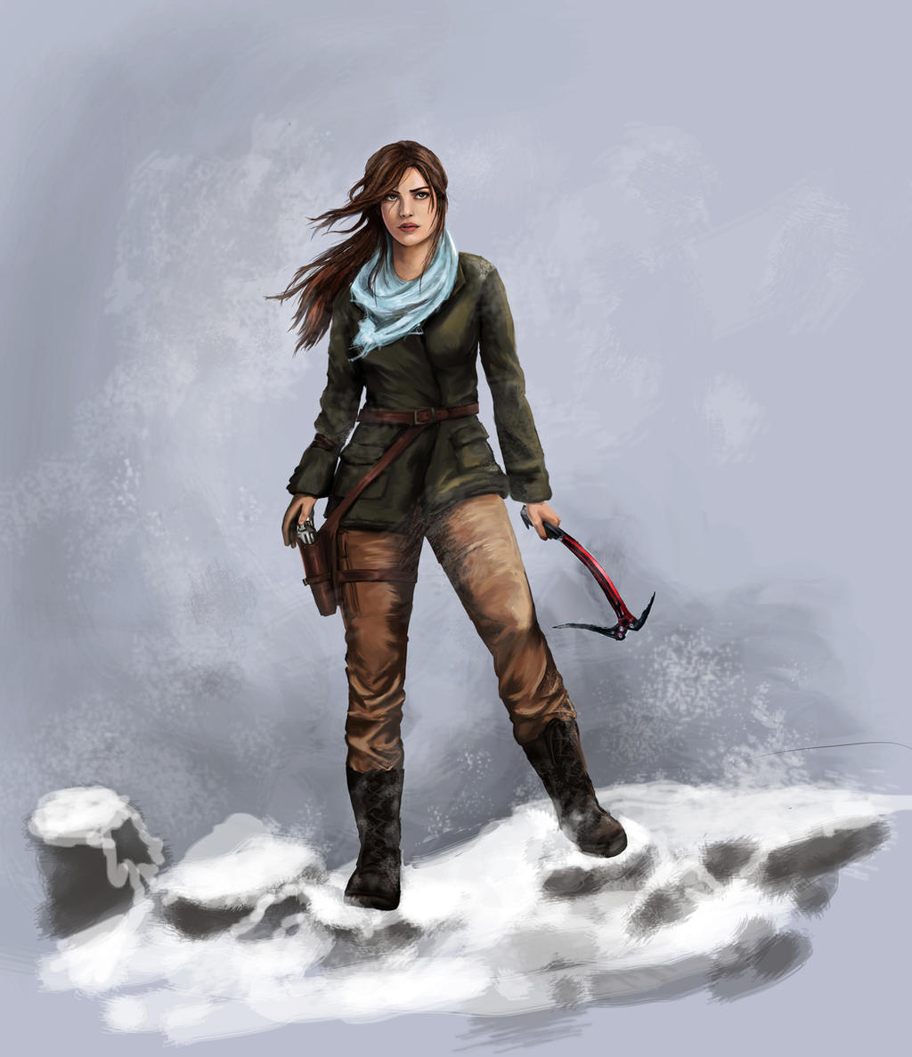 Tomb Rider Wallpaper: Rise Of The Tomb Raider By Pencilsketches On DeviantArt