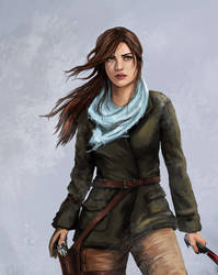 Lara Croft Close up