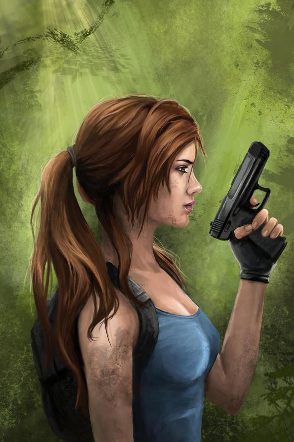 Ms. Croft -Tomb Raider 20 year Anniversary