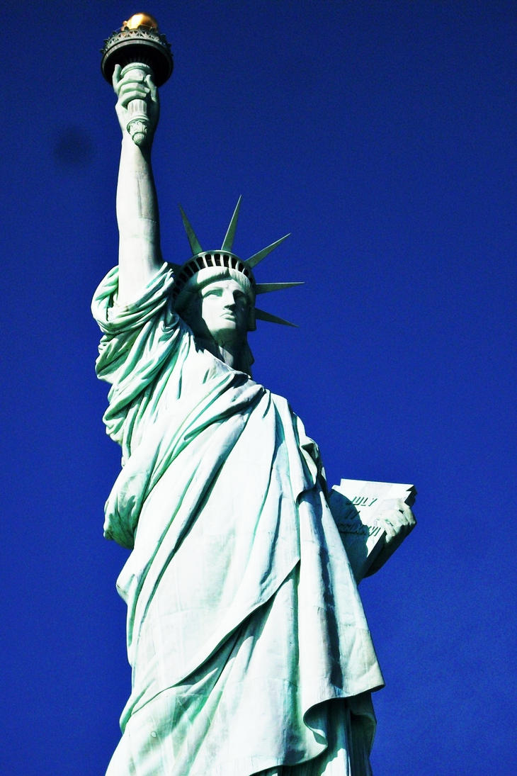 Statue of Libertyyyy by PureIdiocy
