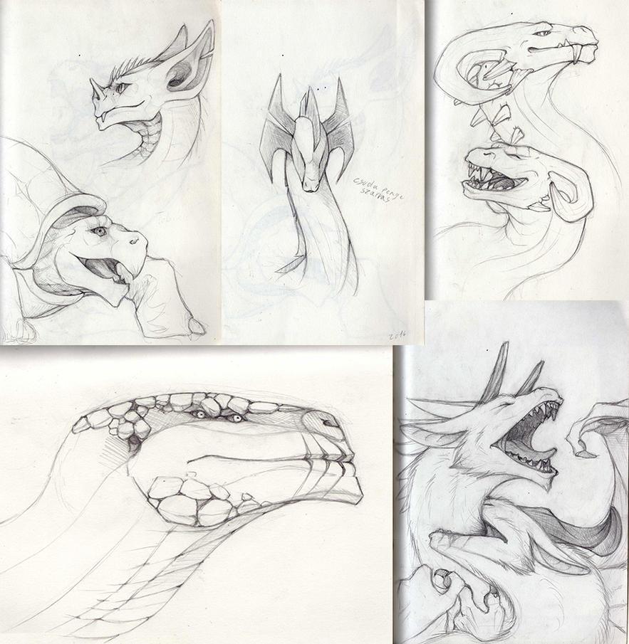 Random sketches by Ezevin