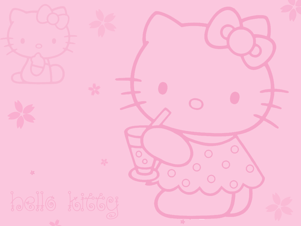 Beautiful Wallpaper Hello Kitty Light Pink - hello_kitty_wallpaper_by_lost_with_the_snow  Pic_346528.jpg