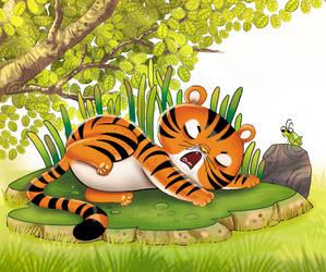 tiger by aditgalihilustration