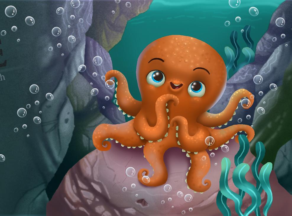 Cute Octopus Logo Cute Octopus by