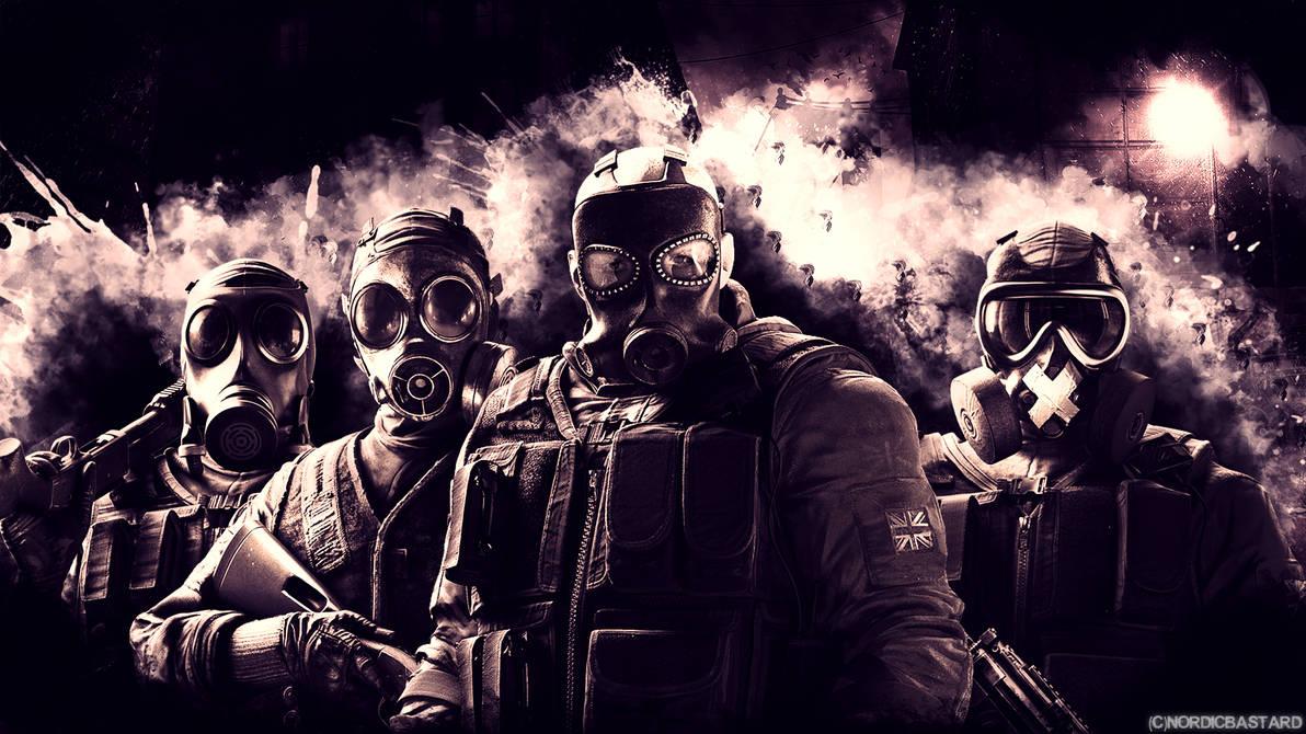 Tom Clancys Rainbow Six Siege Wallpaper Wallgiftwatchesco