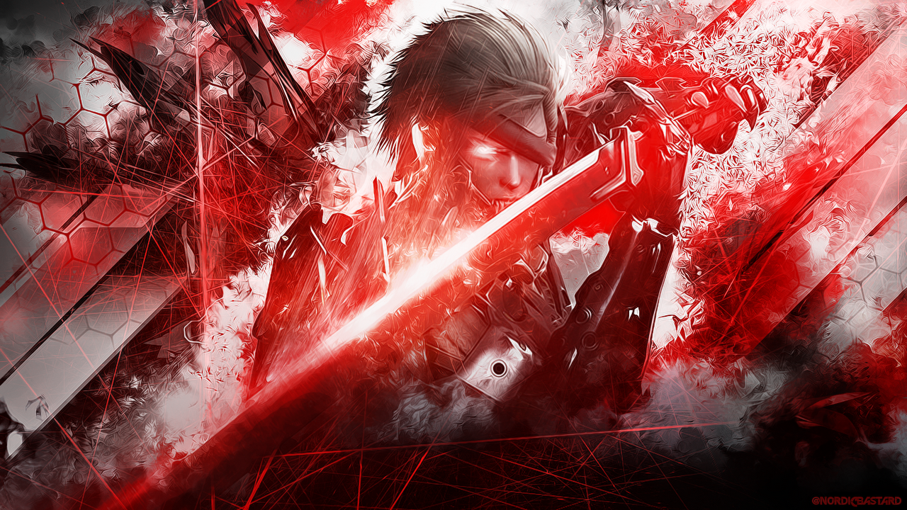 metal gear rising revengeance 1366x768 by nordicbastard