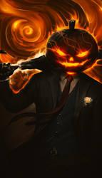 Pumpkin Man by NordicBastard