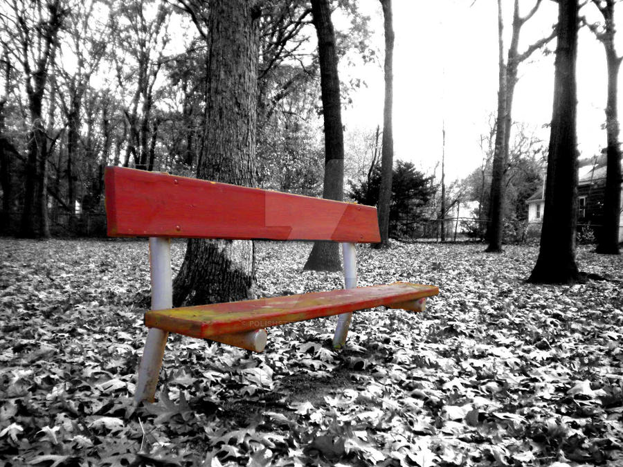 The Red Bench by PolishStitch