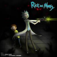 Rick and Morty by ChocolateShaddiX