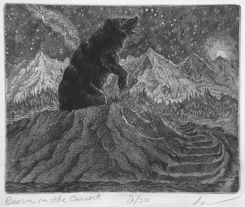 Beorn on the carrock by claraval