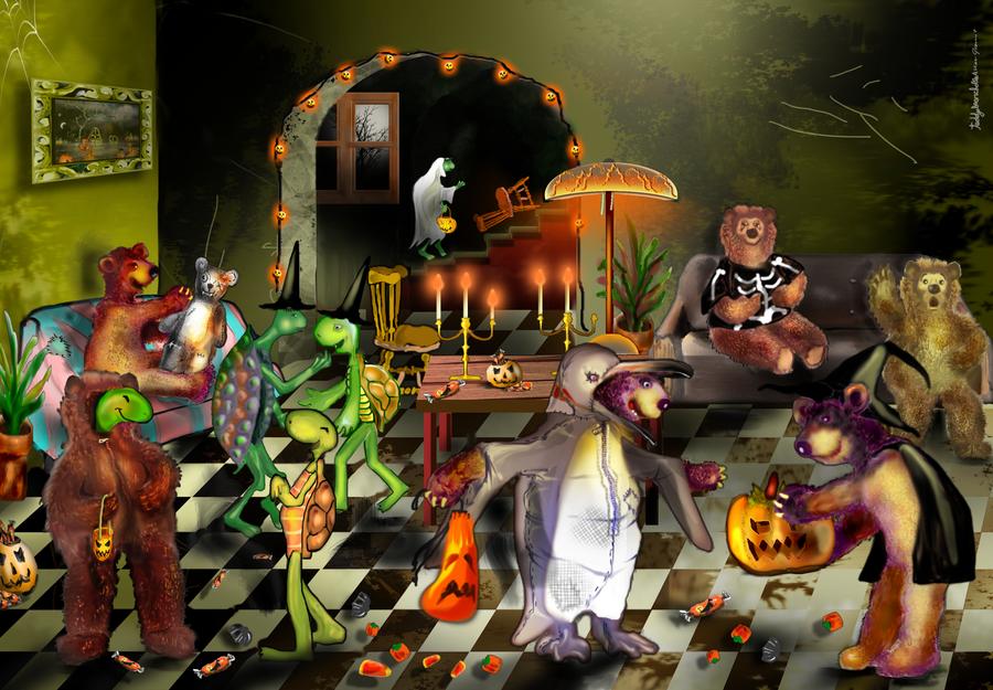 The Greatest Halloween by alteredteddybear