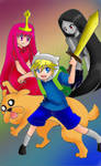 Adventure Time:Finn and Jake!!!