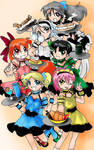 Powerpuff Girls EXE cafe