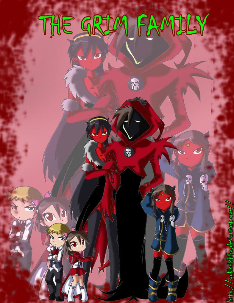 The Grim Family by yukisnishika