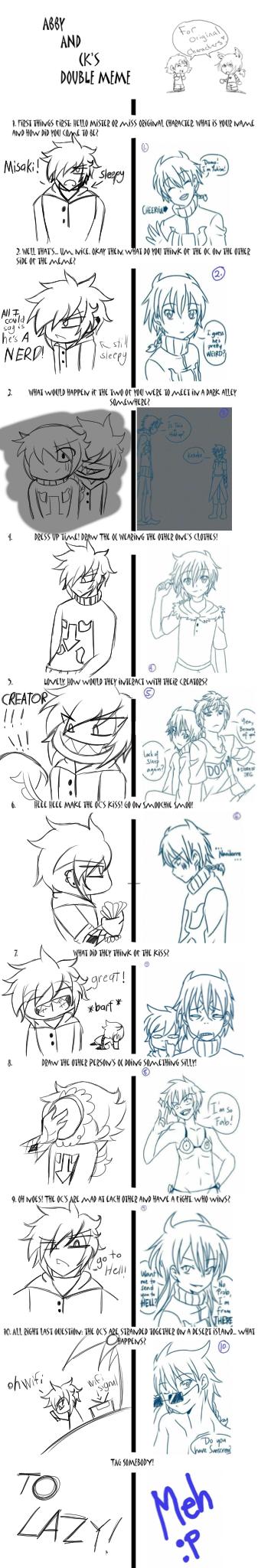 OC Double meme with Pan-chan by yukisnishika