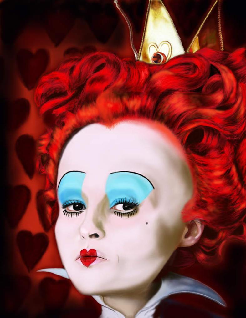 alice slaps the red queen