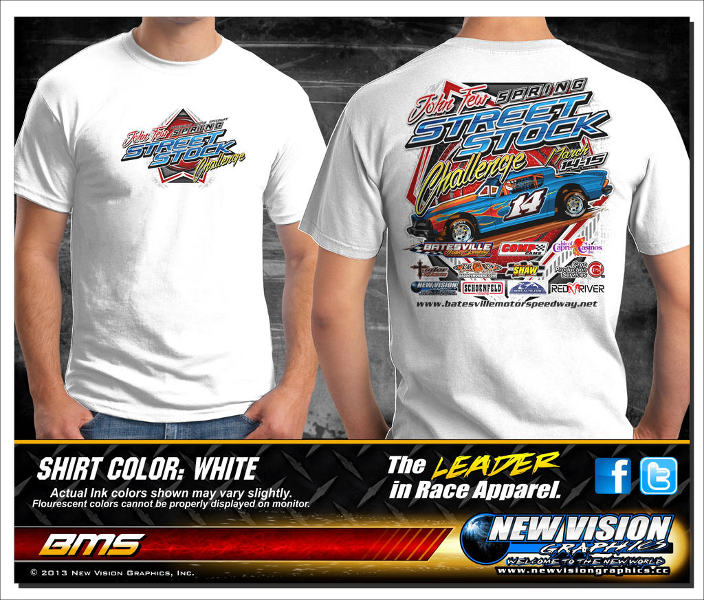 BMS John Few Sprint Street Stock Challenge TEE by tbtyler