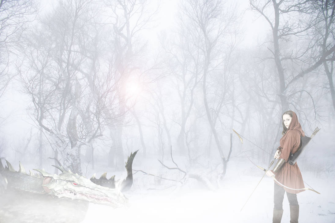 Winter Wonderland with Dragon