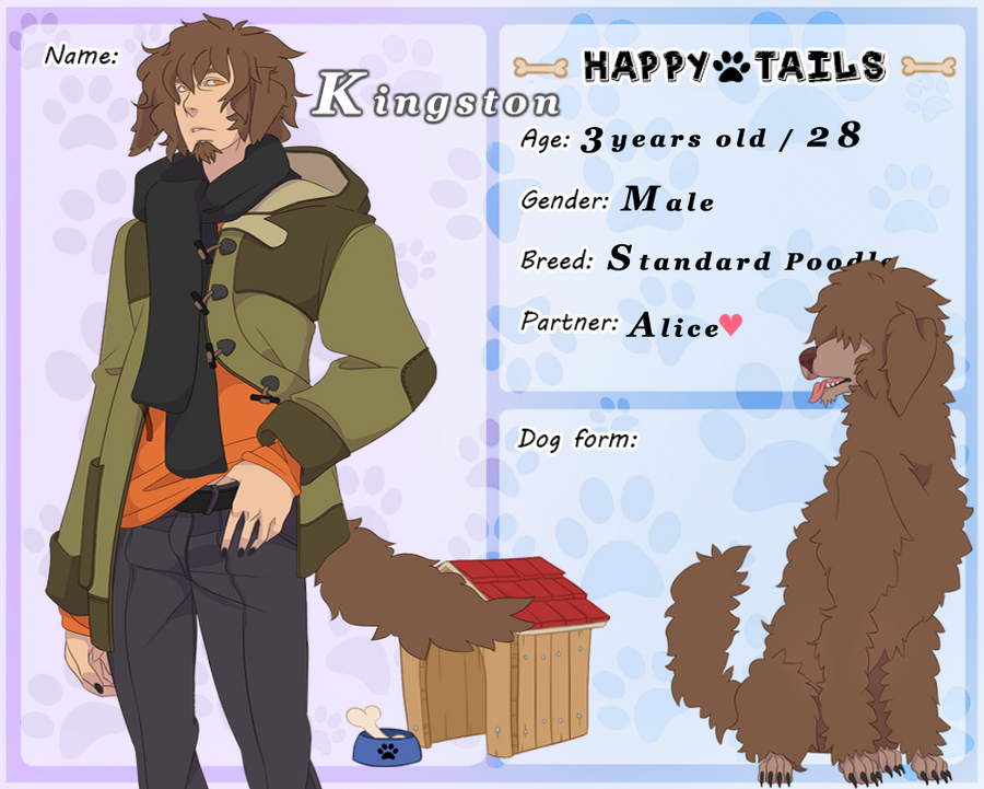 Happy Tails: Kingston by ShaneseKS