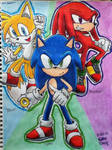 Modern Sonic, Tails, Knuckles
