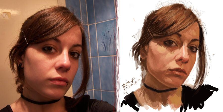 Face 1 by AlyziaZherno