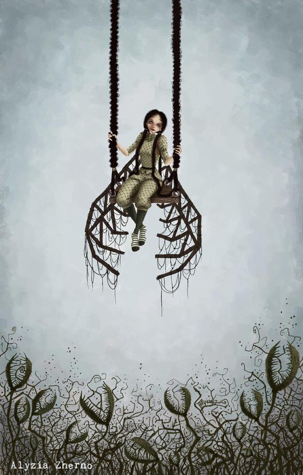 Dead wings by AlyziaZherno
