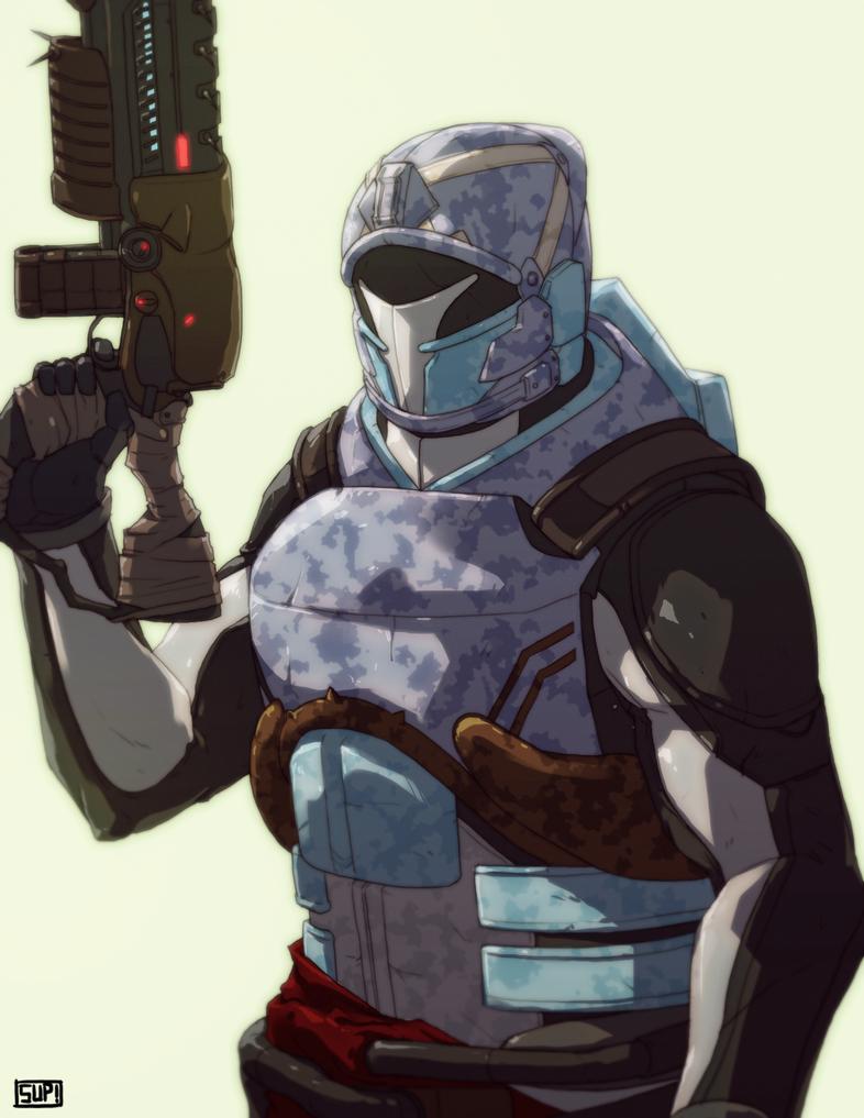 Destiny: Durandal Project - The Titan by Kavasiki on ...