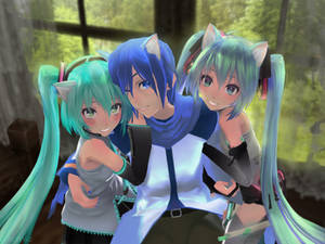 Two (Three? Two-n-a-half?) Vocaloids by the Window