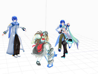Tda Kaito model progress: GAAAAAAAHHH.