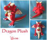 Dragon Plush Commission