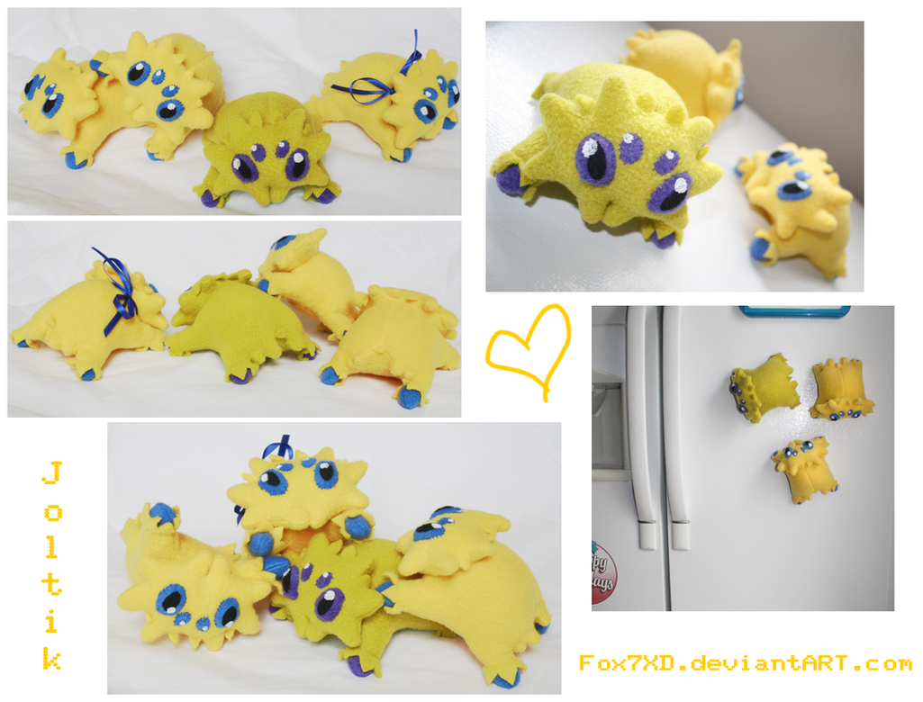 Joltik Plush by Fox7XD