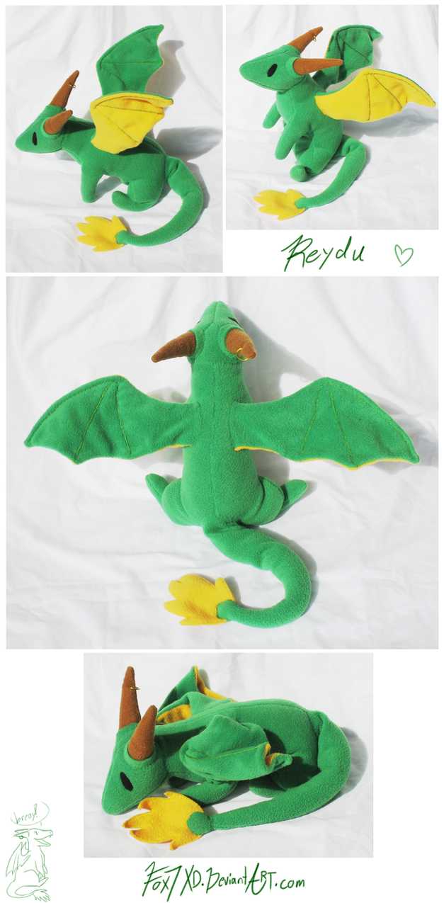 Reydu Plush 2 by Fox7XD
