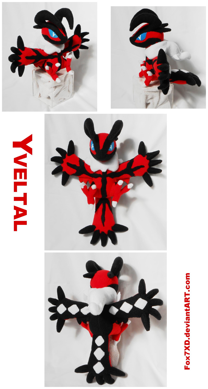 Yveltal Pokedoll by Fox7XD