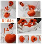 Giant Krabby Plush