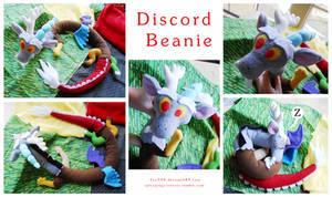 Discord beanie plush by Fox7XD