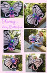 Life sized Butterfree Plush