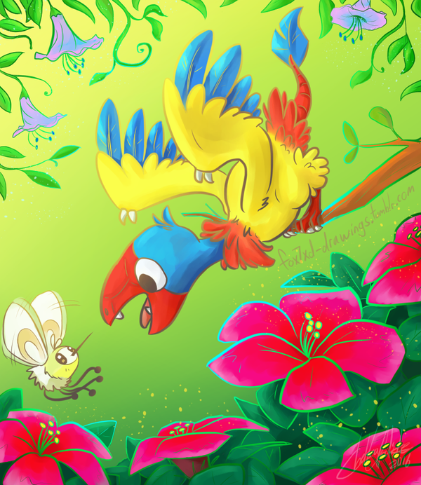 Tropical Jungle by Fox7XD