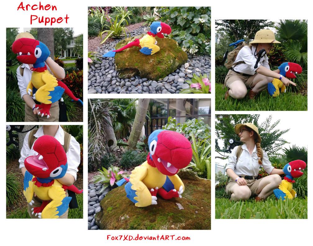 Archen Plush Puppet