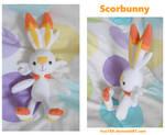Scorbunny Doll by Fox7XD