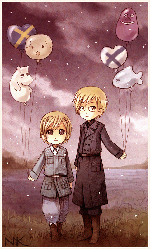 APH Balloons by Hetalia