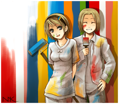 APH Double Trouble by Hetalia