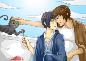 Greece x Japan by Hetalia