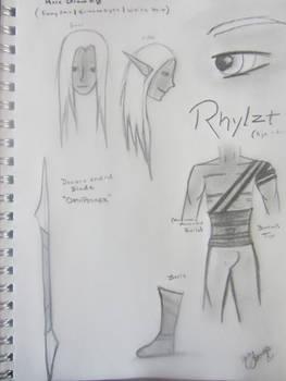 Rhylzt Claddafin: Ref. Sheet