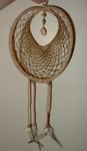 Large double hoop dreamcatcher by jillykb on deviantart for How to make a double ring dreamcatcher