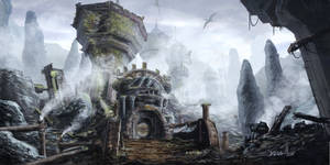 TES - Morrowind - Dwemer Ruins East of Mount Assar