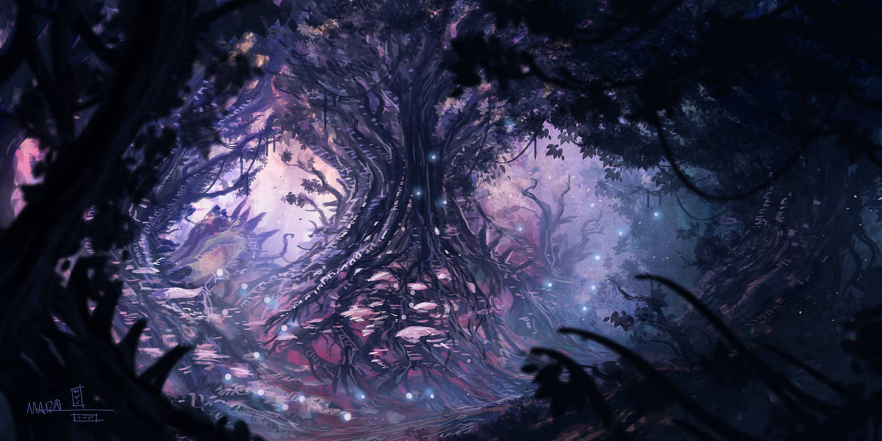 Magic Forest by mbanshee