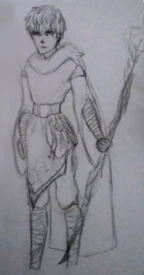 Mage genos I think??? by DrawingGirlA